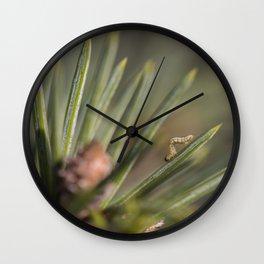 Inching Along Wall Clock