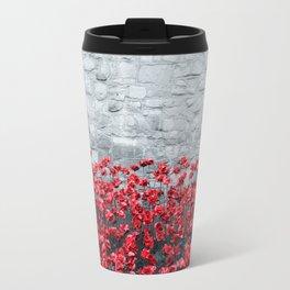 Tower Poppies 02B Travel Mug