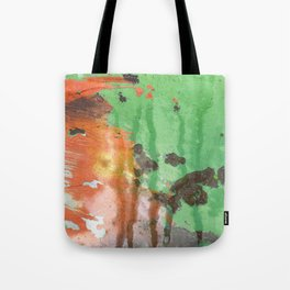 Deere in Rain Tote Bag