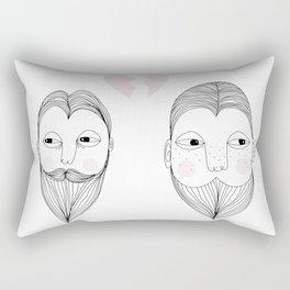 No more love Rectangular Pillow