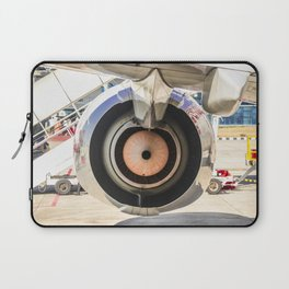 Aircraft reflecting our movement in cirlces Laptop Sleeve