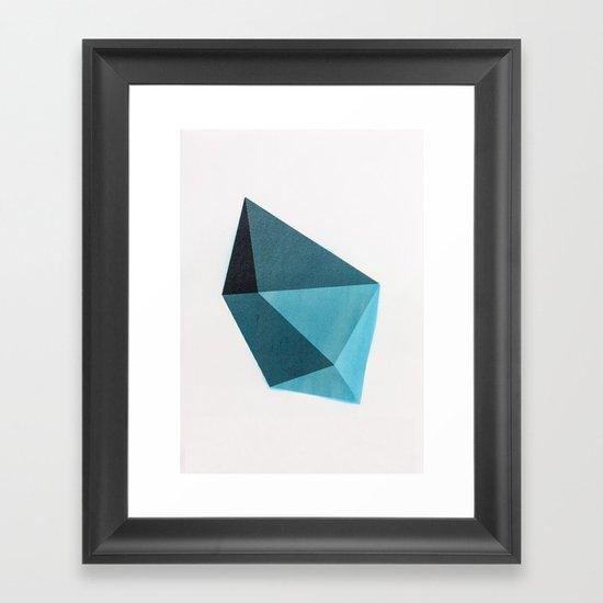 Geometric Shape Framed Art Print