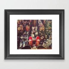 HIGH Framed Art Print