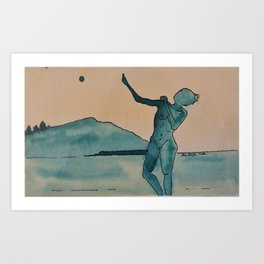 Moon Dance Art Print