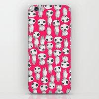 kodama iPhone & iPod Skins featuring Kodama  by pkarnold + The Cult Print Shop