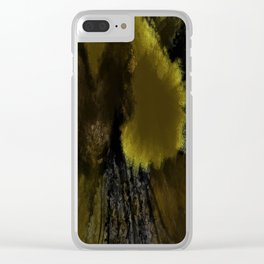 Falling Gift Clear iPhone Case