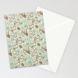 Kittea Time Stationery Cards