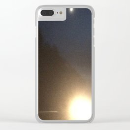 Abstracte Light Art in the Dark 4 Clear iPhone Case