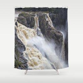 Enjoy the waterfall Shower Curtain