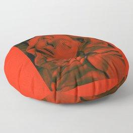 St. Teresa, Red Floor Pillow