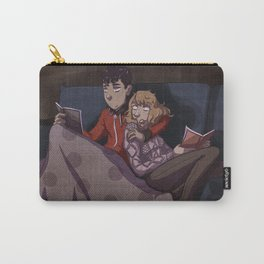 Reading in the couch. Carry-All Pouch