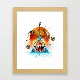 ERR-OR: Tiger Connection Framed Art Print
