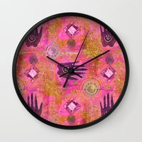 hands Wall Clocks featuring Hands by LebensART