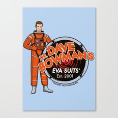 Dr. Dave Bowman's EVA Suits Canvas Print
