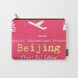 PEK Beijing airport code Carry-All Pouch