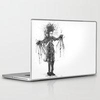 edward scissorhands Laptop & iPad Skins featuring Edward Scissorhands by V.Live