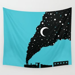 the night train Wall Tapestry