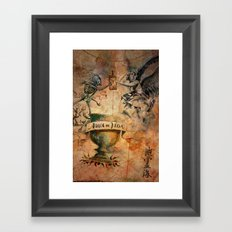 Travel Spirit Framed Art Print