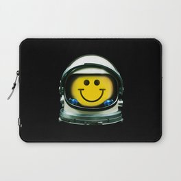 Happy Astronaut Laptop Sleeve