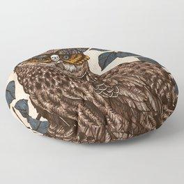 Deaths Head Floor Pillow
