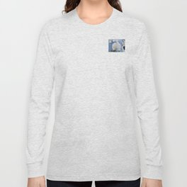 White Phalaenopsis Long Sleeve T-shirt