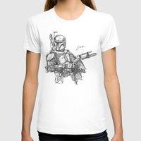 boba fett T-shirts featuring Boba Fett by Leamartes