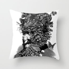 Ents Throw Pillow