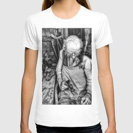 The Cobbler ( Black & White ) T-shirt