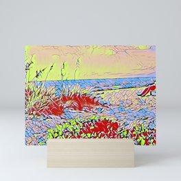 Carolina Dunes Sunrise Mini Art Print