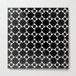 Ethnic Pattern Metal Print