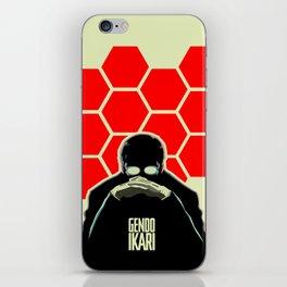 Gendo Ikari from Evangelion. Super Dad. iPhone Skin