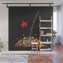 Best Friends: Rake and his Leafy Pals Wall Mural