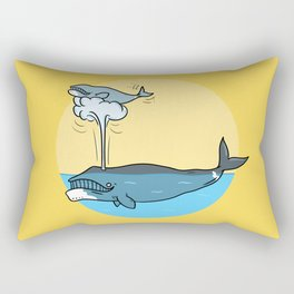 Whalesome Rectangular Pillow