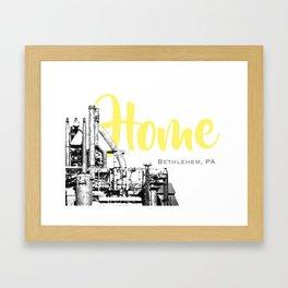 Home Bethlehem, PA  Framed Art Print