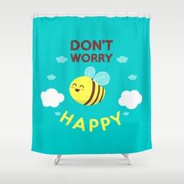 Buzzing life! Shower Curtain
