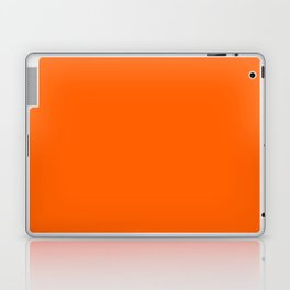 Solid Orange Laptop & iPad Skin