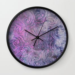 Boho Deco Wall Clock