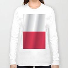 Flag of Poland Long Sleeve T-shirt