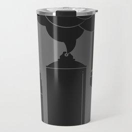 Art Supplies Grey Travel Mug