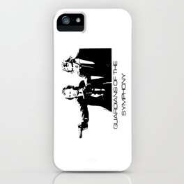 Brahms & Beethoven Guardians of the Symphony iPhone Case