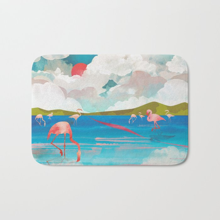 Flamingo Dream Bath Mat