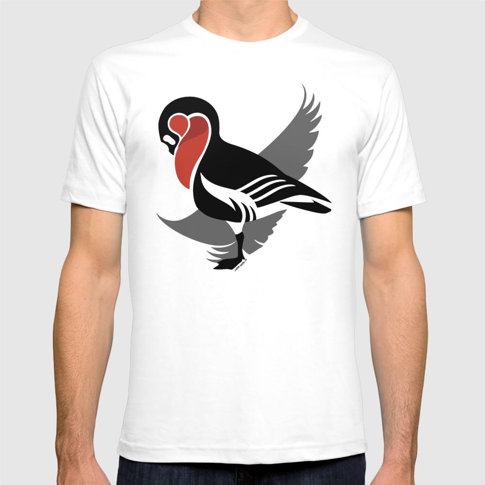 Red-breasted Goose (branta Ruficollis) T-shirt by Kataszep (TSR9111971) photo