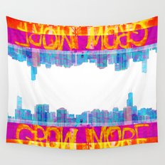 Grow More | Project L0̷SS   Wall Tapestry