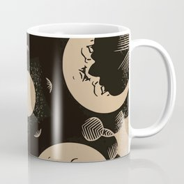 Ouija Wheel of the Moon - Beyond the Veil Coffee Mug