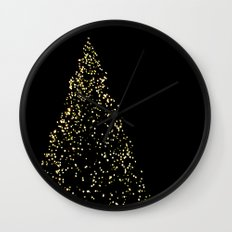 Edinburgh Christmas Tree  Wall Clock