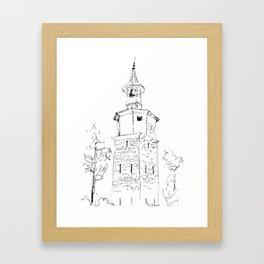 Dryanovo Belfry Framed Art Print