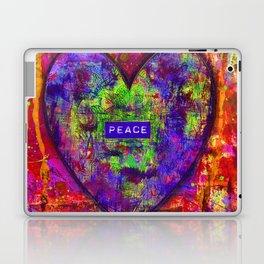 HEARTFUL OF PEACE Laptop & iPad Skin