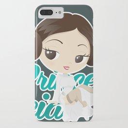 Princess Leia Pin up iPhone Case