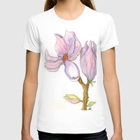 magnolia T-shirts featuring Magnolia by Coffee and Pen
