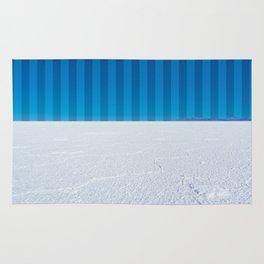 Striped Skies on the Salt Flats, Bolivia Rug